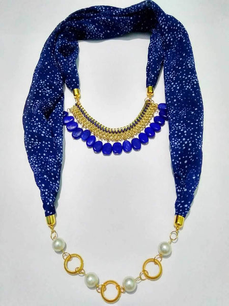 Scarf Necklace-SN033