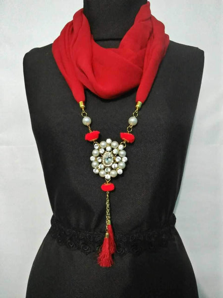 Scarf Necklace-SN034