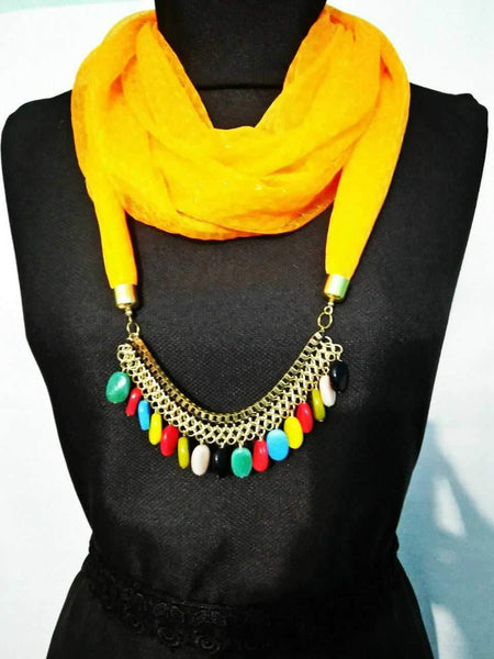Scarf Necklace-SN035