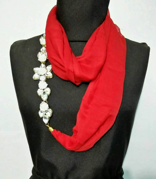 Scarf Necklace-SN036