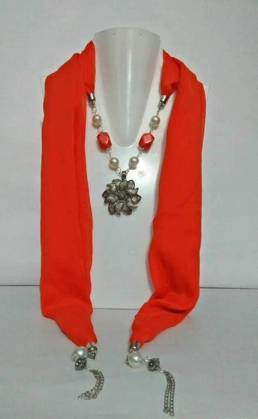 Scarf Necklace-SN037