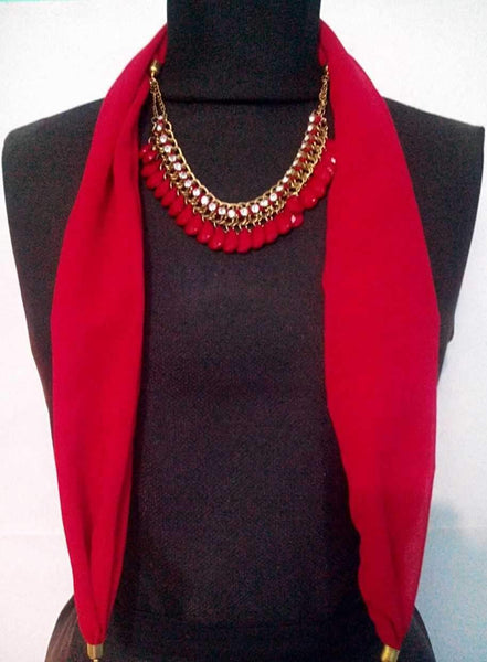 Scarf Necklace-SN039