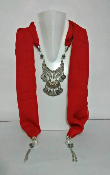 Scarf Necklace-SN040