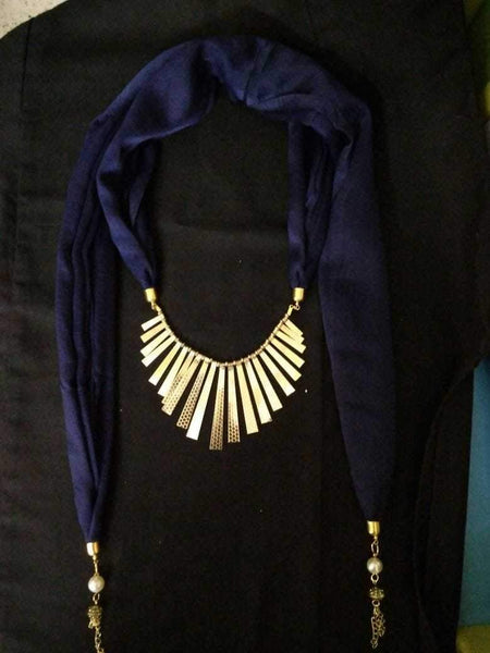 Scarf Necklace-SN041