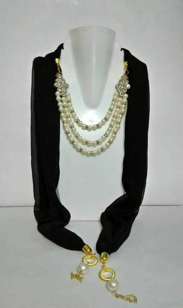 Scarf Necklace-SN042