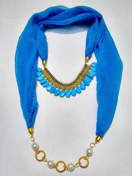 Scarf Necklace-SN043