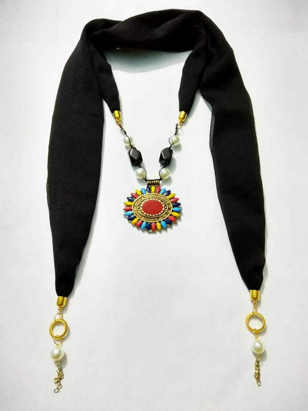 Scarf Necklace-SN046