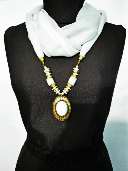 Scarf Necklace-SN048