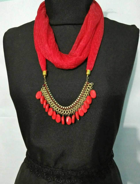 Scarf Necklace-SN050