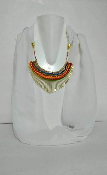 Scarf Necklace-SN053