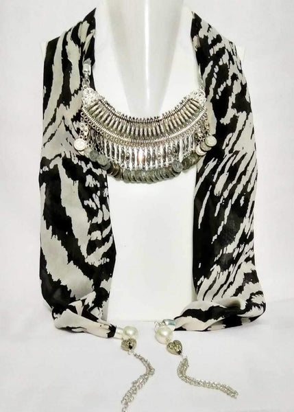 Scarf Necklace-SN054