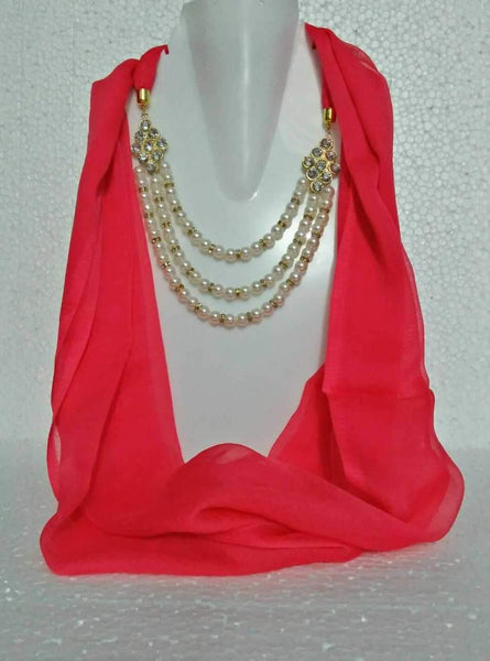 Scarf Necklace-SN055