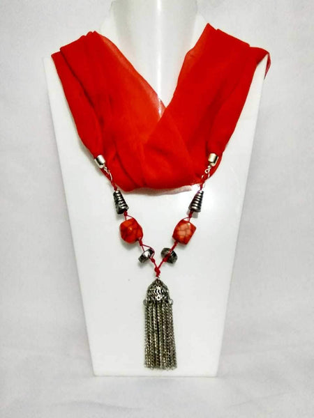 Scarf Necklace-SN057