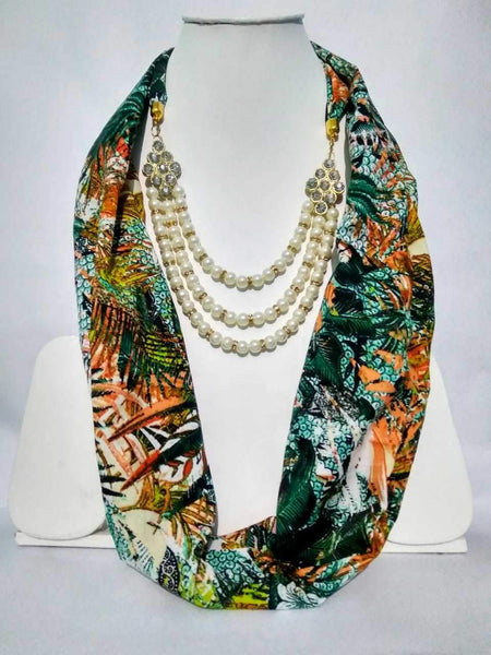 Scarf Necklace-SN059