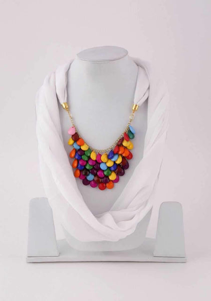Scarf Necklace-SN060