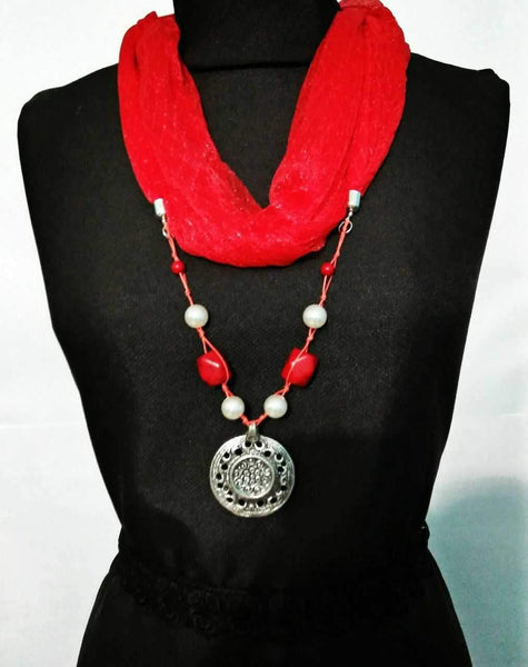 Scarf Necklace-SN062