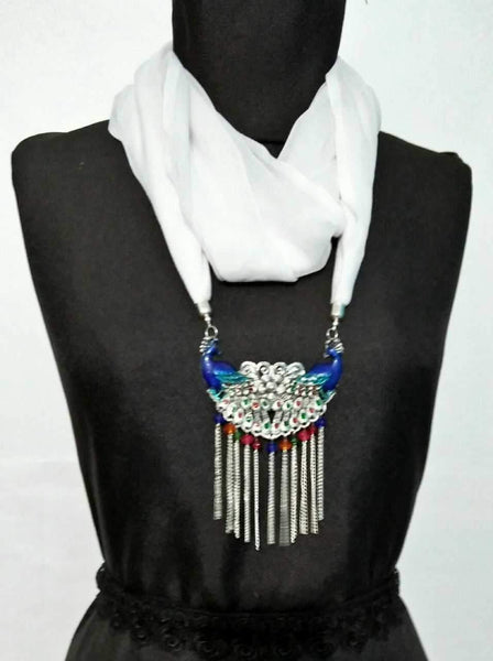 Scarf Necklace-SN064