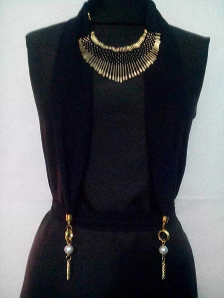 Scarf Necklace-SN067