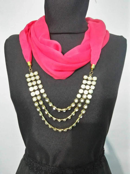 Scarf Necklace-SN071