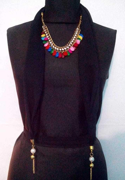 Scarf Necklace-SN072