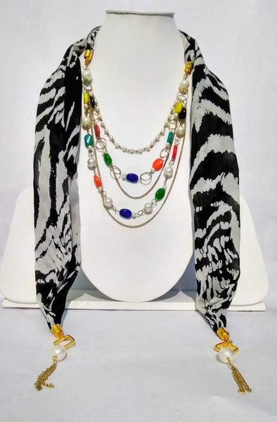 Scarf Necklace-SN074