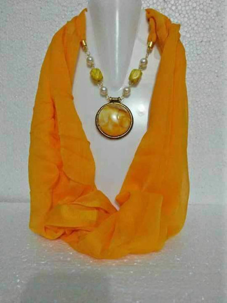 Scarf Necklace-SN075