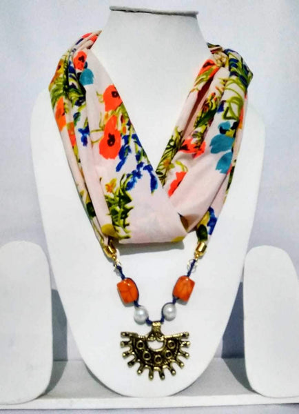 Scarf Necklace-SN076