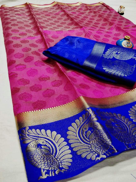 Tussar Silk Saree- TSS035
