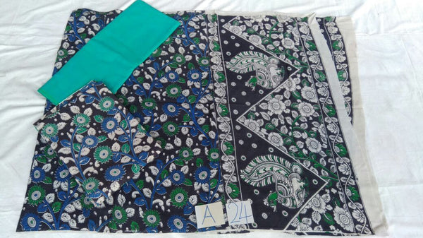 Unstitched Kalamkari Dress Material-039