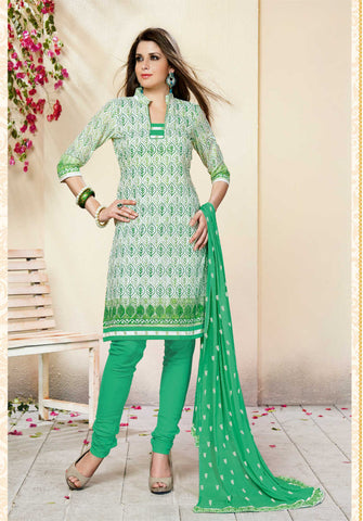 Unstitched Salwar suit - AASHNA