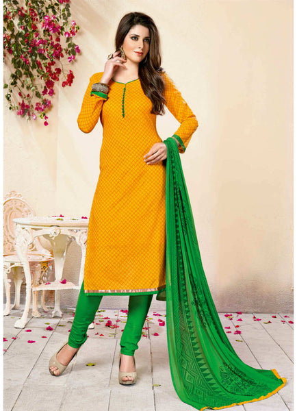 Unstitched Salwar suit - ANANYA