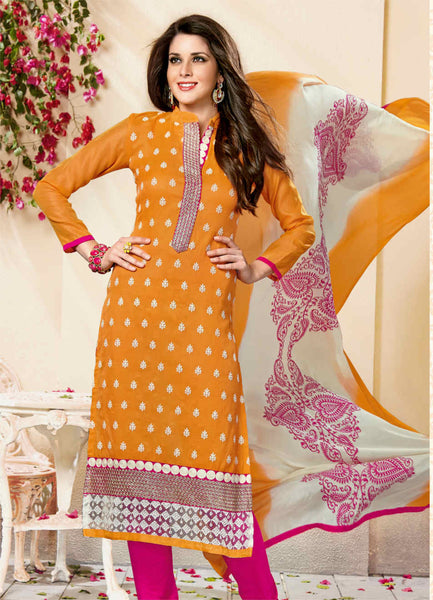 Unstitched Salwar suit - KANISHKA