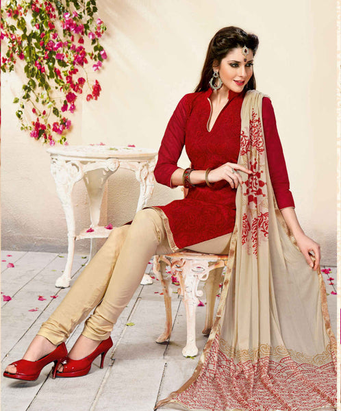 Unstitched Salwar suit - KAVYA