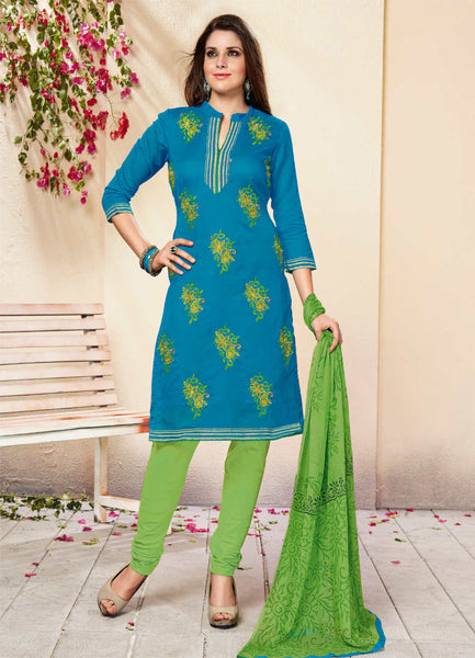 Unstitched Salwar suit - RISHTA