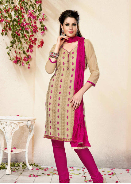 Unstitched Salwar suit - TRISHA