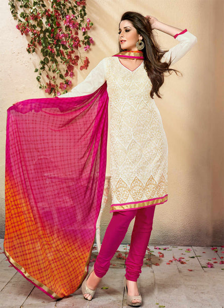 Unstitched Salwar suit - VERONICA