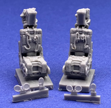 48077 Martin Baker GRU-7 Ejection Seats (2) with safety harnesses