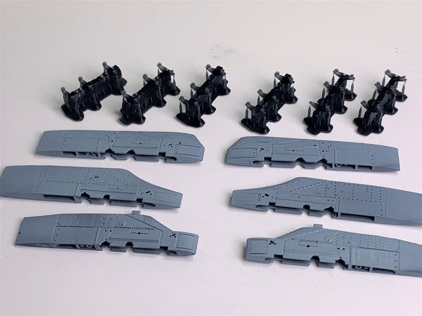 48090 A-7E Corsair II Weapons Pylons w/ MAU-11 Bomb Racks