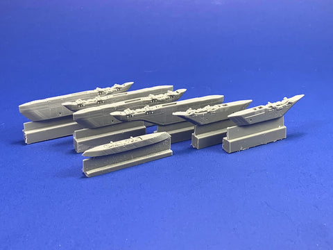 48067 F/A-18E/F/G Super Hornet Weapons Pylons no Dog Ears