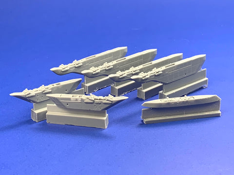 48066 F/A-18E/F/G  Super Hornet Weapons Pylons with Dog Ears
