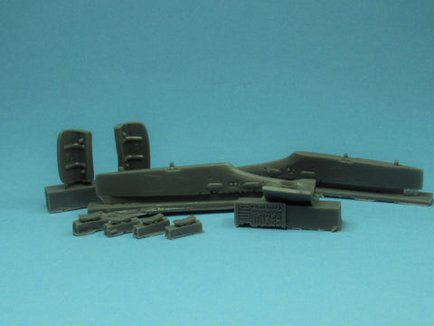 48005 Eurofighter Inner Pylons, APU Exhaust and Intake Cover set (Revell)