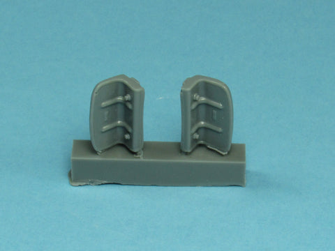 48017 Eurofighter Typhoon Intake Covers
