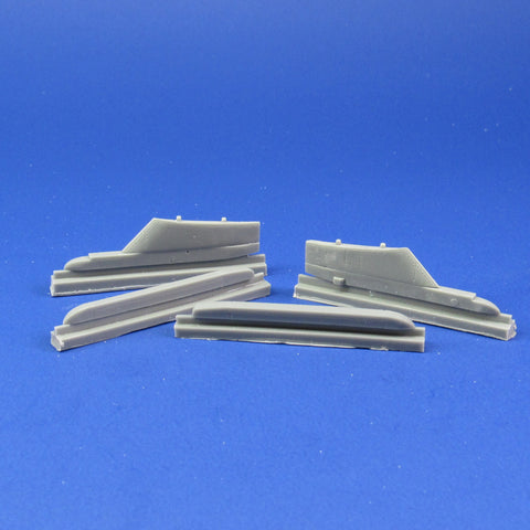 48050 Corrected Aero 1A/48 Sidewinder rails/Sparrow Pylons for F3H-2 Demon