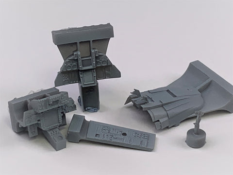 48082 F-14 Late A/Late B Tomcat cockpit upgrade set  (Tamiya)