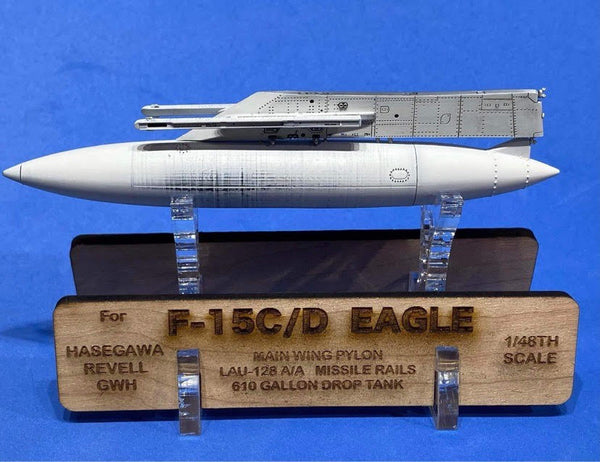 48088 F-15 Eagle Weapons Pylons with LAU-128 Launch Rails