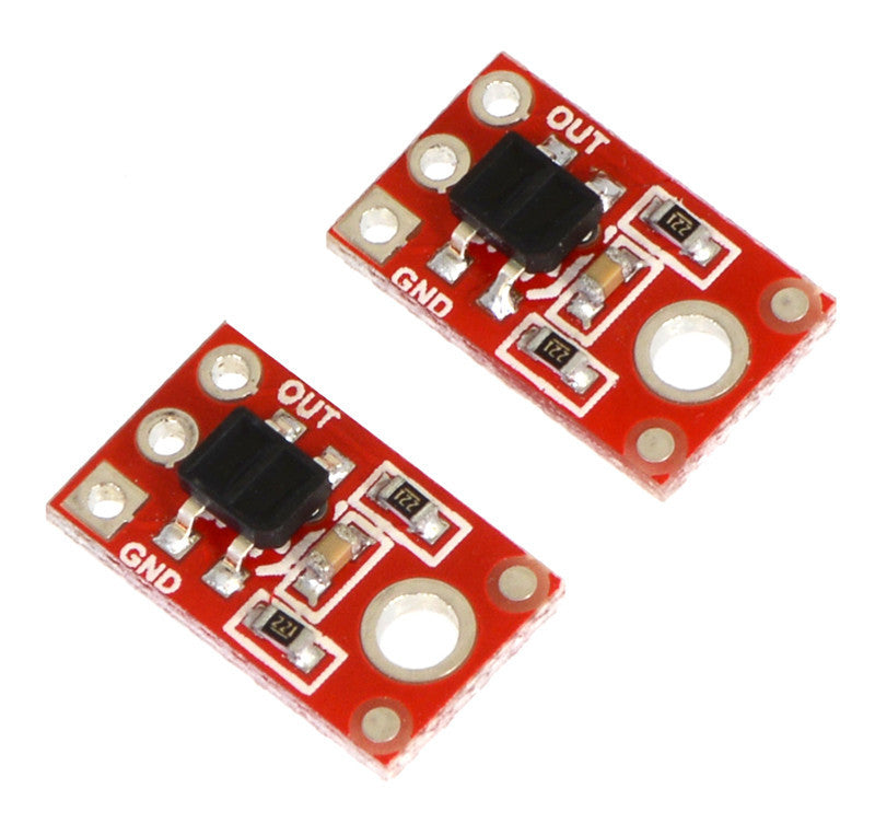 A product image of QTR-1RC Reflectance Sensor (2-Pack)
