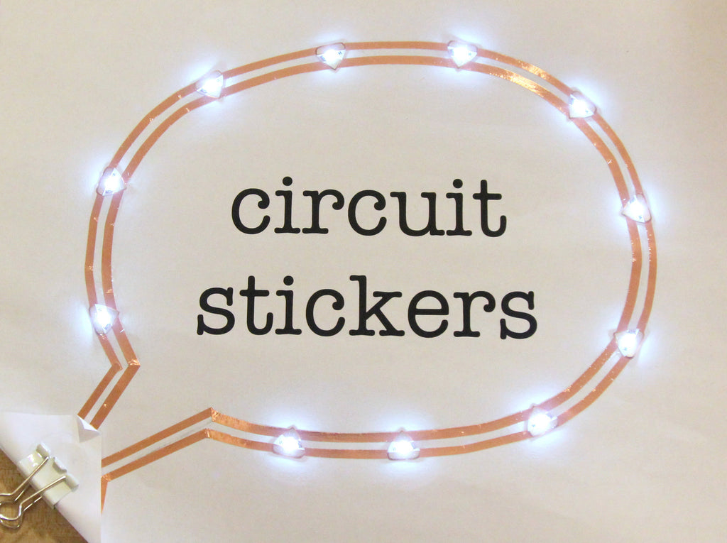 Circuit Stickers LED MegaPack (30 stickers)