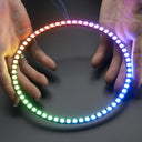 A product image of NeoPixel 1/4 60 Ring - 5050 RGB LED w/ Integrated Drivers