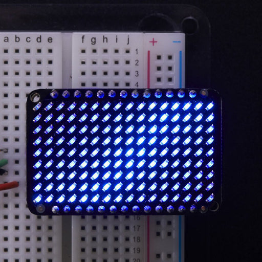 A product image of Adafruit LED Charlieplexed Matrix - 9x16 LEDs