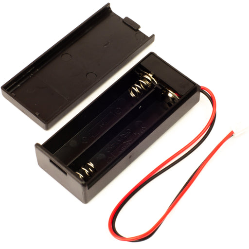 A product image of 2 x AAA Battery Holder with switch